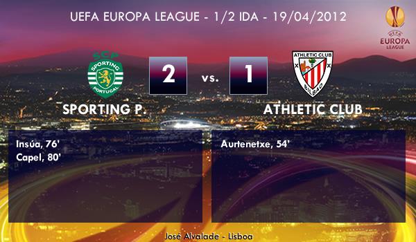 UEFA Europa League – 1/2 IDA – 19/04/2012 – Sporting Portugal (2) vs. (1) Athletic Club
