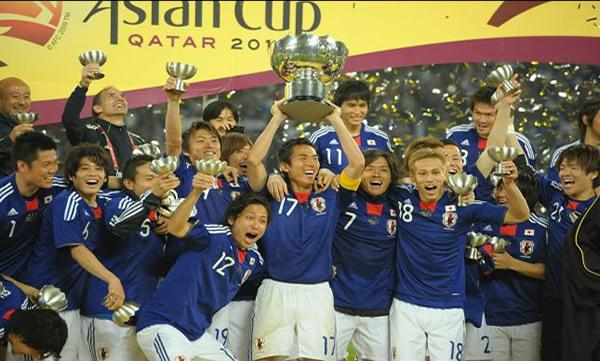Japón - Campeón AFC Asian Cup Qatar 2011