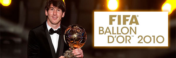 FIFA Ballon D'Or 2010 - Lionel Messi