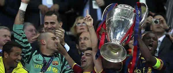 El FC Barcelona conquista su 4ª Copa de Europa