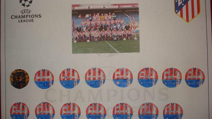 Club Atlético de Madrid 96/97 UEFA Champions League