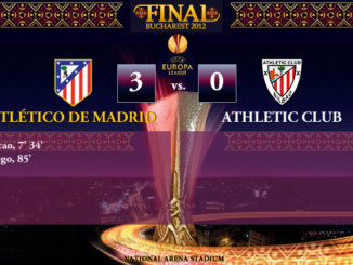 UEFA Europa League FINAL 2012 - Atlético de Madrid 3-0 Athletic Club