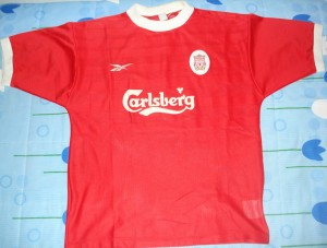 #10 - Owen - Liverpool FC 98/00 Home shirt
