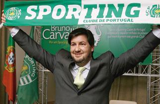 Bruno Carvalho, candidato a las elecciones del SCP - 2013