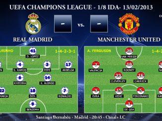 UEFA Champions League - 1/8 IDA - 13/02/2013 - Real Madrid vs. Manchester United (Previa)