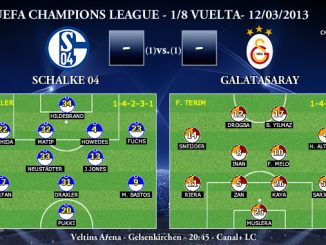 UEFA Champions League - 1/8 VUELTA - 12/03/2013 - Schalke 04 vs. Galatasaray (Previa)