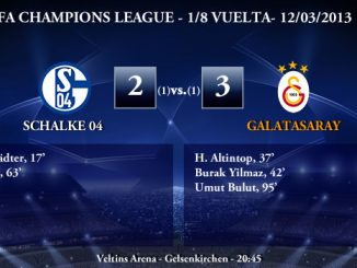 UEFA Champions League - 1/8 VUELTA - 12/03/2013 - Schalke 04 (2) vs. (3) Galatasaray