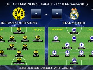 UEFA Champions League - 1/2 IDA - 24/04/2013 - Borussia Dortmund vs. Real Madrid (Previa)