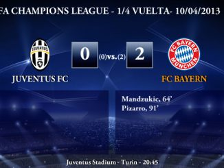 UEFA Champions League - 1/4 VUELTA - 10/04/2013 - Juventus FC (0) vs. (2) FC Bayern