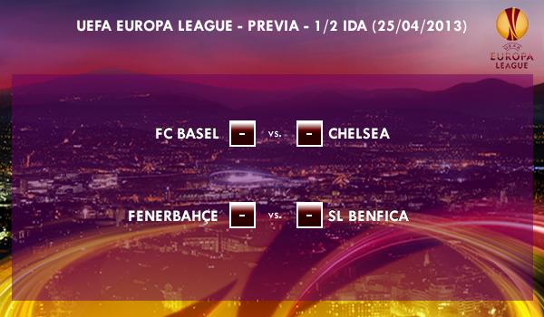 UEFA Europa League – 1/2 VUELTA – 25/04/2013 - Previa