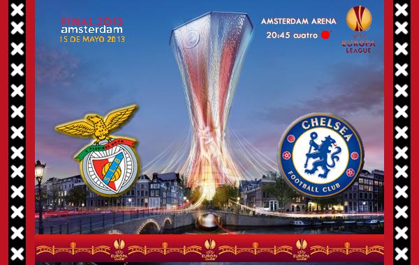 UEFA Europa League – FINAL – 15/05/2013 – SL Benfica vs. Chelsea FC