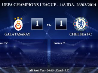 UEFA Champions League - 1/8 IDA - 26/02/2013 - Galatasaray (1) vs. (1) Chelsea