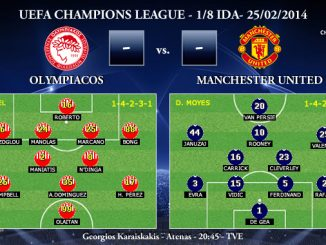 UEFA Champions League - 1/8 IDA - 25/02/2013 - Olympiacos vs. Manchester United
