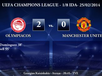 UEFA Champions League - 1/8 IDA - 25/02/2013 - Olympiacos (2) vs. (0) Manchester United