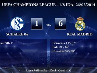 UEFA Champions League - 1/8 IDA - 26/02/2013 - Schalke 04 (1) vs. (6) Real Madrid