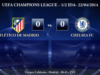 UEFA Champions League - 1/2 IDA - 22/04/2014 - Atlético de Madrid 0 vs 0 Chelsea