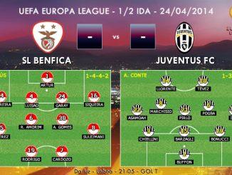UEFA Europa League - 1/2 IDA - 24/04/2014 - Benfica vs Juventus