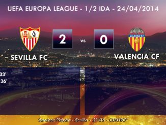 UEFA Europa League - 1/2 IDA - 24/04/2014 - Sevilla 2 vs 0 Valencia
