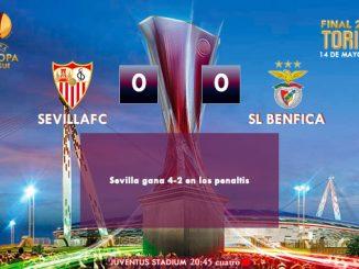 UEFA Europa League - FINAL - 14/05/2014 - Sevilla 0(4) vs (2)0 Benfica