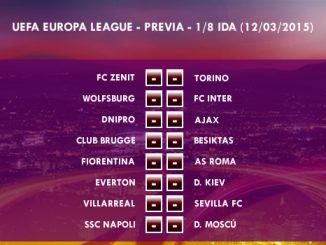 UEFA Europa League – 1/8 IDA – 12/03/2015 - Previa