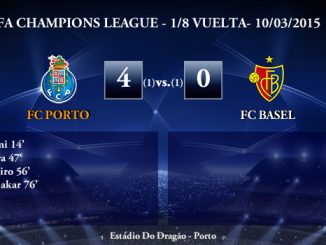 UEFA Champions League – 1/8 VUELTA – 10/03/2015 – FC Porto 4-0 FC Basel