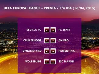 UEFA Europa League – 1/4 IDA – 16/04/2015 – Previa