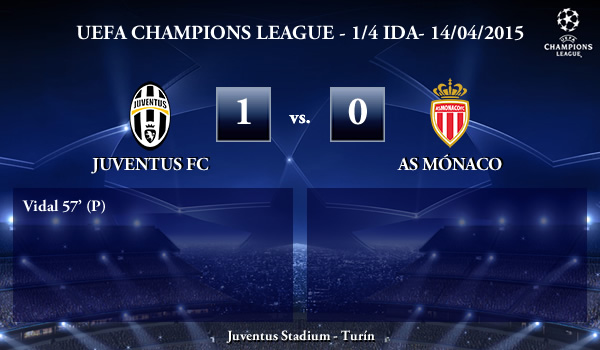 UEFA Champions League – 1/4 IDA – 14/04/2015 – Juventus 1-0 Mónaco