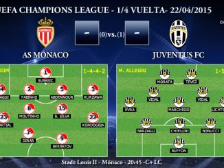 UEFA Champions League – 1/4 VUELTA – 22/04/2015 – Mónaco vs Juventus