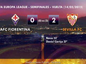 UEFA Europa League – Semifinales VUELTA – 14/05/2015 – Fiorentina 0-2 Sevilla