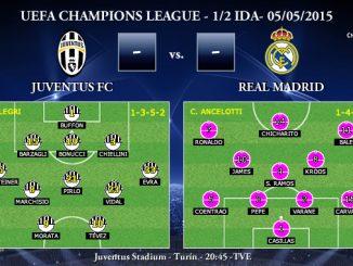 UEFA Champions League – Semifinales IDA – 05/05/2015 – Juventus vs Real Madrid
