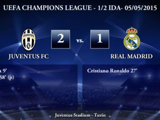 UEFA Champions League – Semifinales IDA – 05/05/2015 – Juventus 2-1 Real Madrid