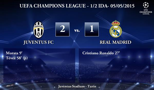 UEFA Champions League – Semifinales IDA – 05/05/2015 – Juventus 2-1 Real Madrid