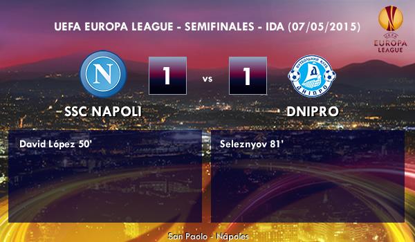 UEFA Europa League – Semifinales IDA – 07/05/2015 – Napoli 1-1 Dnipro