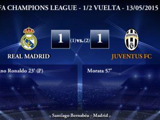 UEFA Champions League – Semifinales VUELTA – 13/05/2015 – Real Madrid 1-1 Juventus