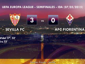 UEFA Europa League – Semifinales IDA – 07/05/2015 – Sevilla 3-0 Fiorentina