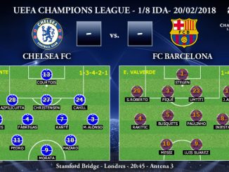 UEFA Champions League – 1/8 IDA – Chelsea vs FC Barcelona