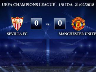 UEFA Champions League – 1/8 IDA – Sevilla 0-0 Manchester United