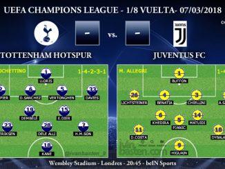 UEFA Champions League – 1/8 VUELTA – Tottenham vs Juventus