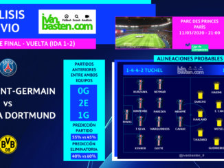 Champions League 19-20 - 1/8 VUELTA – Paris Saint-Germain vs Borussia Dortmund