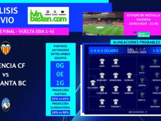 Champions League 19-20 - 1/8 VUELTA - Valencia CF vs Atalanta BC