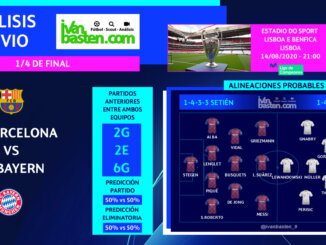 Champions League 19-20 - 1/4 de final – FC Barcelona vs FC Bayern