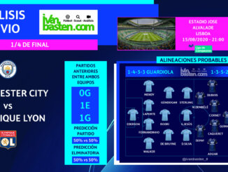 Champions League 19-20 - 1/4 de final – Manchester City vs FC O. Lyon