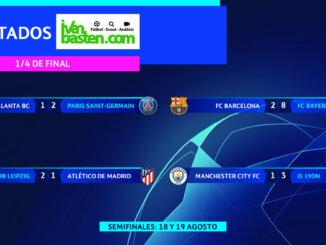 Champions League 19-20 – 1/4 de final