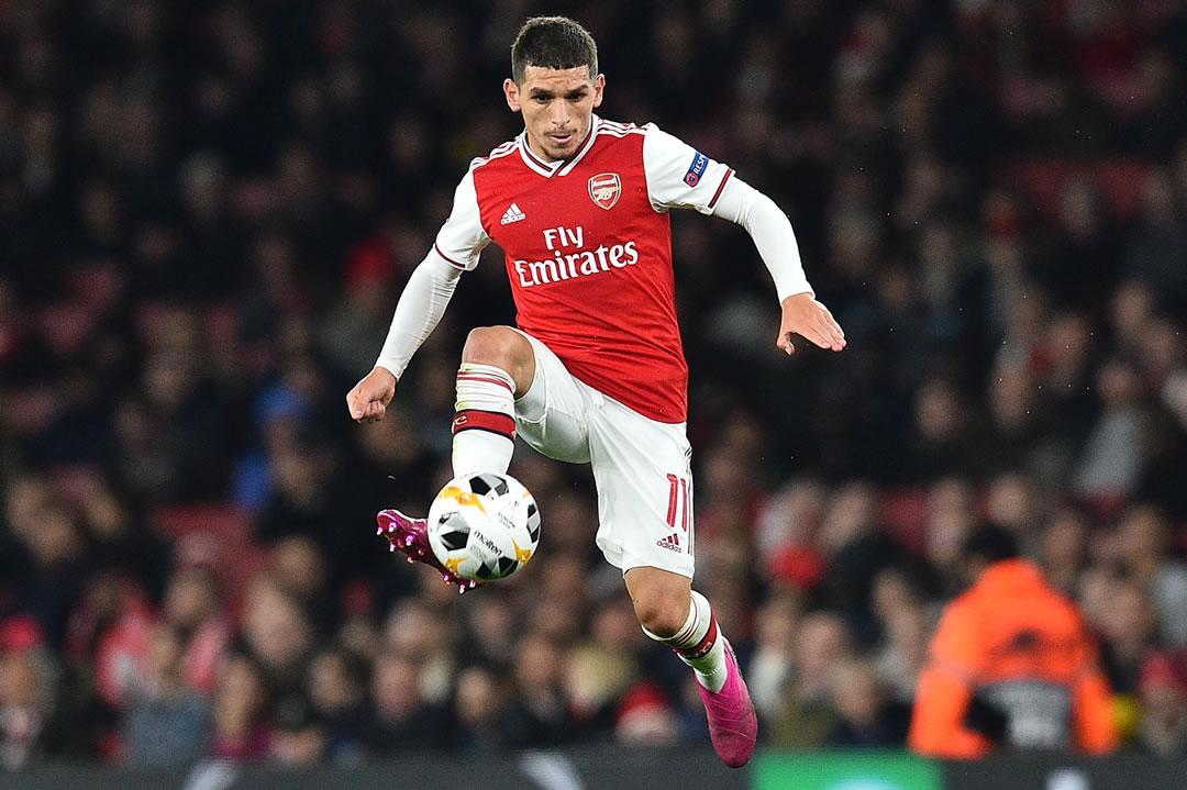 Lucas Torreira - Arsenal - Vitoria Guimaraes (UEL 19/20)